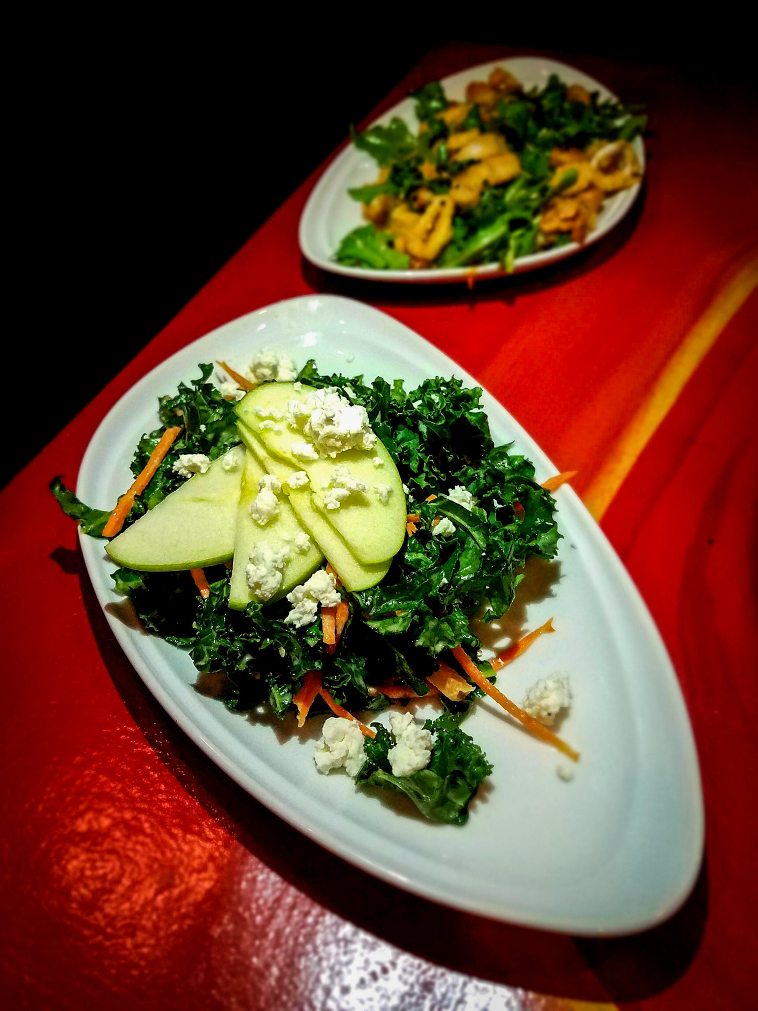 Kale Goat Cheese Salad