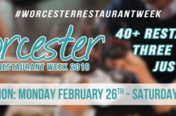 Worcester Restaurant Week – Winter 2018