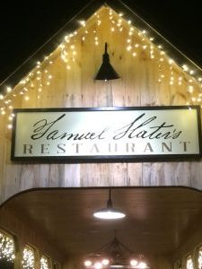 Samuel Slater's Restaurant: An Unexpected Experience